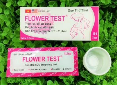 Những lí do mà khách hàng nên tin tưởng và lựa chọn que thử thai Flower test